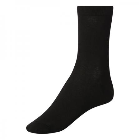 Pex Award 5 Pair Pack Black Short Socks